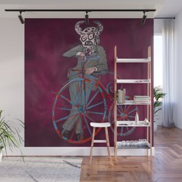 Barry Gangster Farthing - Red Wall Mural