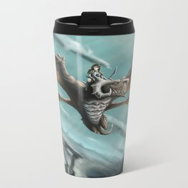 Dragon Rider Metal Travel Mug