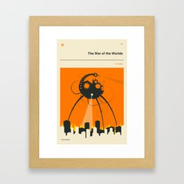 THE WAR OF THE WORLDS Framed Art Print