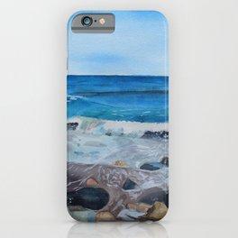 Hampton Beach Painting iPhone Case