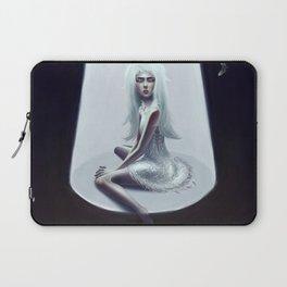 blue girl Laptop Sleeve
