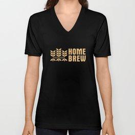 Home Brewing Brewer Craft Beer Beer Making Unisex V-Neck