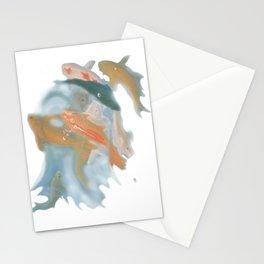 koi {white} Stationery Cards