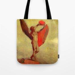 """Odilon Redon """"Icarus"""" Tote Bag"""
