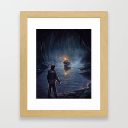 The Shores of the Styx Framed Art Print