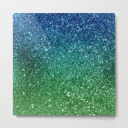 Ombre glitter #7 Metal Print