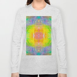 Prisms Play of Light 1 Mandala Long Sleeve T-shirt