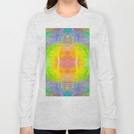 Prisms Play of Light 1 Mandala Long Sleeve T-shirt