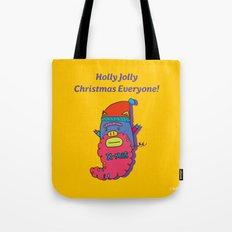 piggy santa Tote Bag