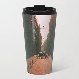 Sunset and Pavement Travel Mug