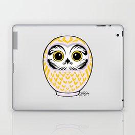 Violet White Fukuro Daruma Laptop & iPad Skin