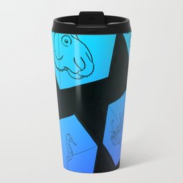 Sea Creature Cubes Travel Mug