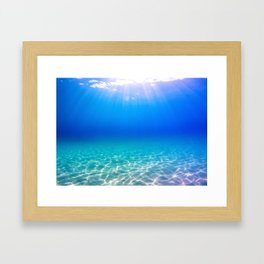 One Deep Breath Framed Art Print