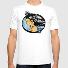 Pirate Nereid - Color White Mens Fitted Tee SMALL