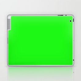 From The Crayon Box – Electric Lime - Bright Green - Neon Green Solid Color Laptop & iPad Skin