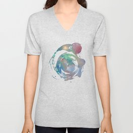 Out There Unisex V-Neck