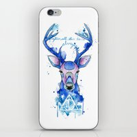harry potter iPhone & iPod Skins featuring Always. Harry Potter patronus. by Simona Borstnar