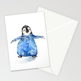Baby Penguin in Onsie Stationery Cards