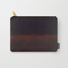 1960 Black on Dark Sienna On Purple by Mark Rothko HD Carry-All Pouch