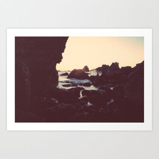 The Sun & The Sea II Art Print
