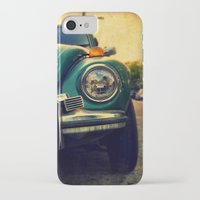 beetle iPhone & iPod Cases featuring Beetle by Melissa Lund