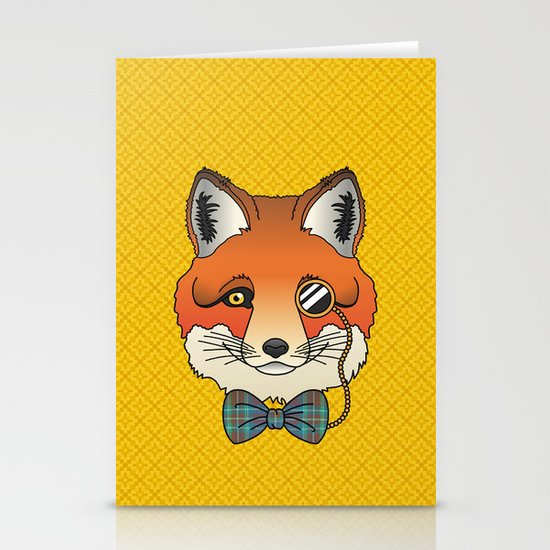 Dapper Fox Stationery Cards