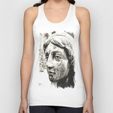 Face of solitude Unisex Tank Top