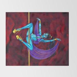 Pole Creatures - Genie Throw Blanket