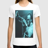 "miles davis T-shirts featuring Miles Presents ""The In Blue"" by Revolutionthrulife"