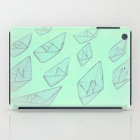 boats iPad Cases featuring 'Boats' by Mr and Mrs Quirynen