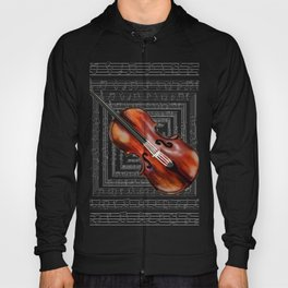 A soul like a violin string Hoody
