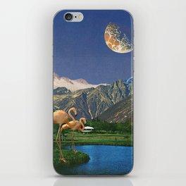 Life Is A Flamingo iPhone Skin