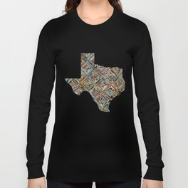 Map of Texas Long Sleeve T-shirt
