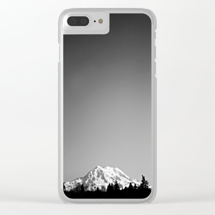 Mt. Rainier Clear iPhone Case