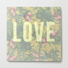 Love and Peaches Metal Print