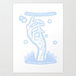 Noah Czerny - I've Been Dead For 7 Years Art Print