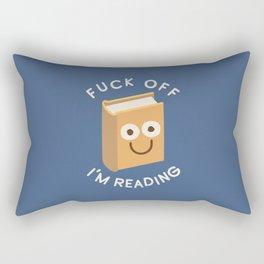 All Booked Up Rectangular Pillow
