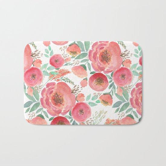 Floral pattern 5 Bath Mat