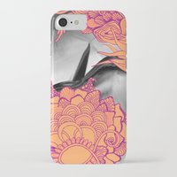 geode iPhone & iPod Cases featuring Geode 6 by michiko_design