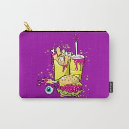 ZOMBIE MEAL - 80'S Halloween horror Carry-All Pouch
