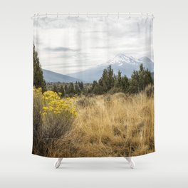 Taking the Scenic Route Shower Curtain