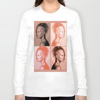 russian Long Sleeve T-shirts featuring + RUSSIAN DOLL + by Sandra Jawad
