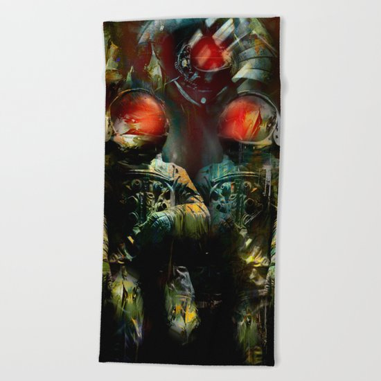 The guardians of the galaxy GN-z11 Beach Towel