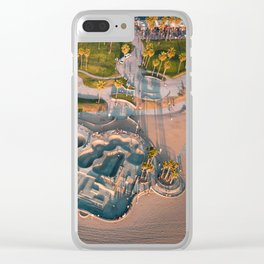 Venice Skatepark Clear iPhone Case