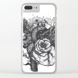 My Heart is Full Clear iPhone Case