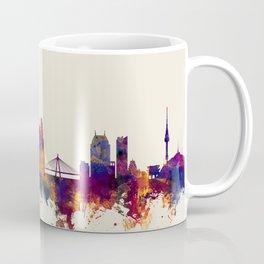 Seoul Skyline South Korea Coffee Mug