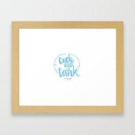 Cycle Yo' Tank Framed Art Print