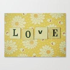 Love No.4 Canvas Print
