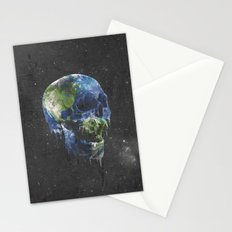 mothers dying Stationery Cards