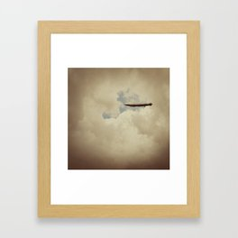 When They Fall Back To Earth Framed Art Print